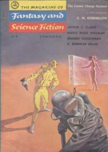 Magazine of Fantasy and Science Fiction, January 1956