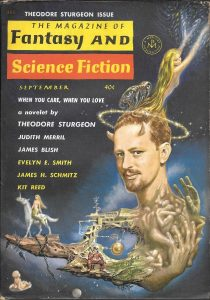 Magazine of Fantasy and Science Fiction, September 1962