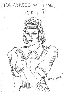 Leslie Perri (self-portrait)