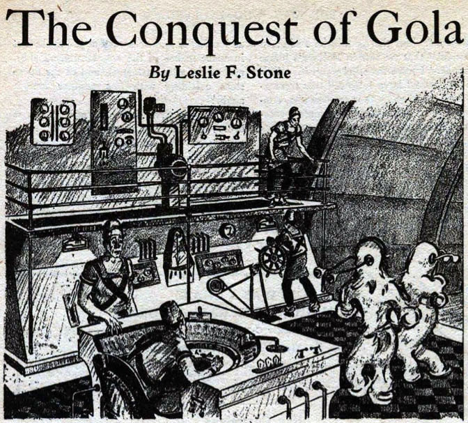 """The Conquest of Gola,"" 1931"